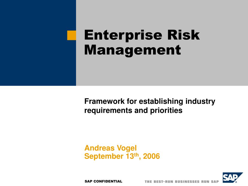 enterprise risk management l.