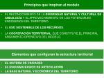 elementos que configuran la estructura territorial
