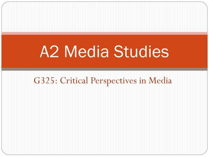 a media studies