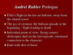 andrei rublev prologue