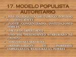 17 modelo populista autoritario