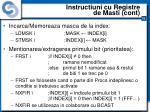 instructiuni cu registre de masti cont