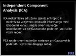 independent component analysis ica