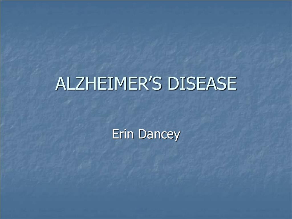 alzheimer s disease l.