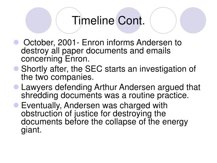 analysis of the enronarthur anderson scandal The fall of enron-an analysis of ethical issues enron & arthur andersen ethics essay the fall of enron an analysis of ethical issues xiaomeng wang 1 introduction although enron went bankrupt and disappeared ten years ago, the impacts it has made on the ethical standards never faded.