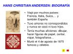 hans christian andersen biograf a4