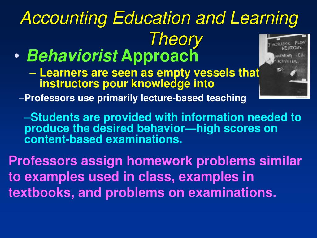 Accounting Education and Learning    Theory