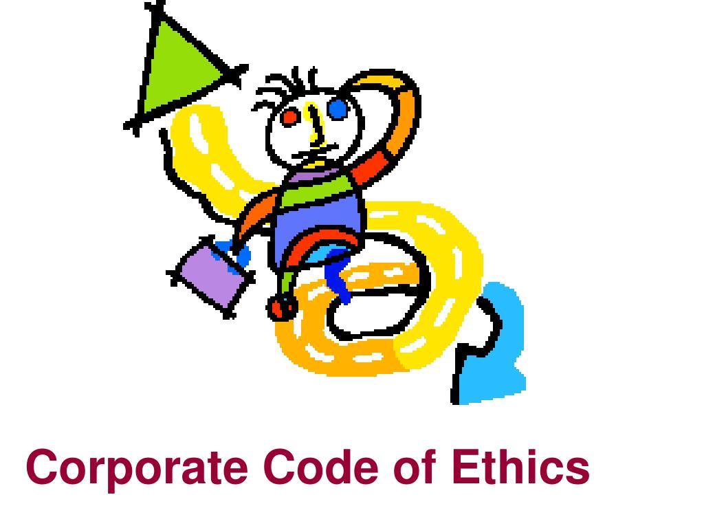 Corporate Code of Ethics