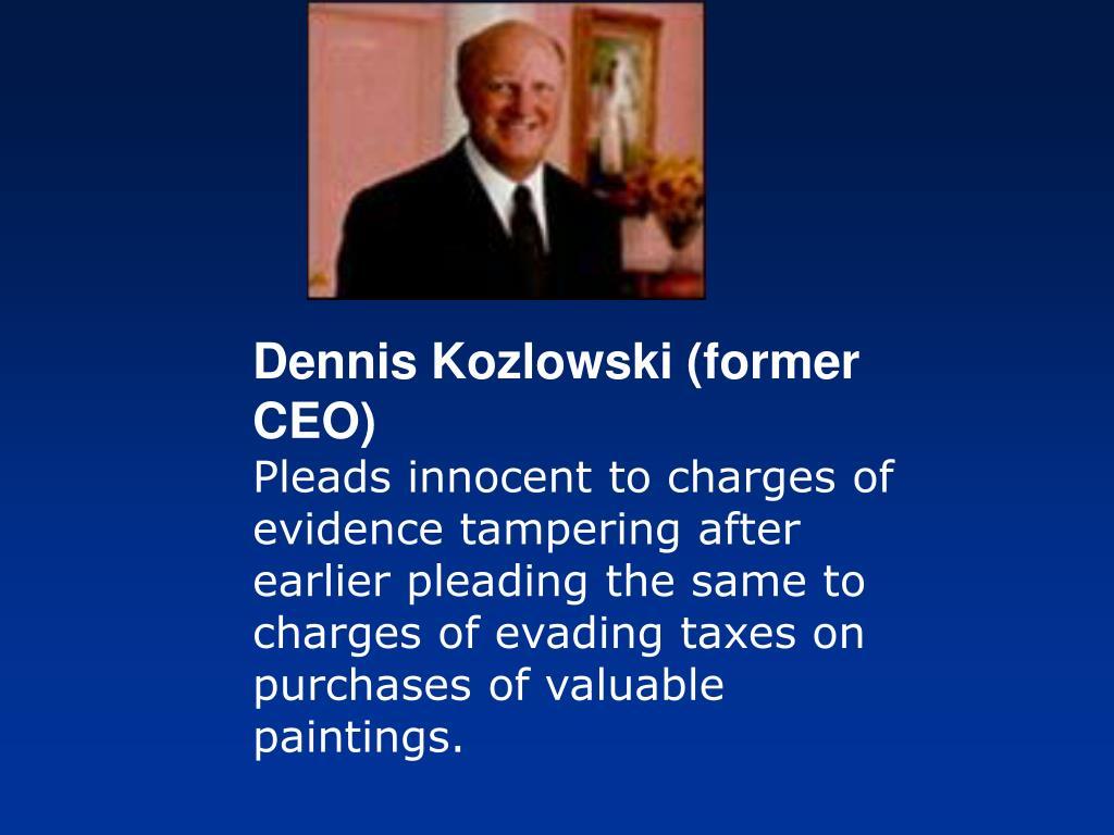Dennis Kozlowski (former CEO)
