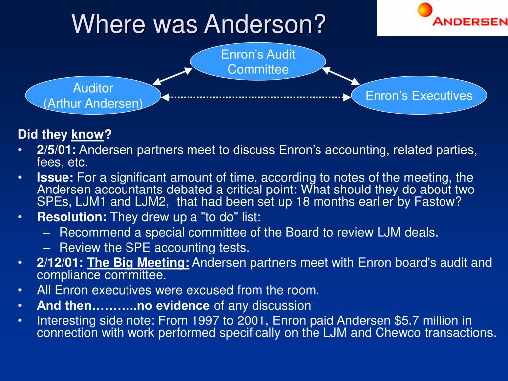 Enron's Audit