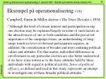 eksempel p operationalisering 1 8