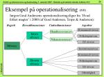 eksempel p operationalisering 8 8