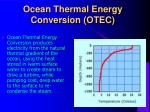 ocean thermal energy conversion otec