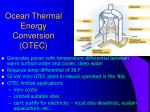 ocean thermal energy conversion otec7