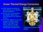 ocean thermal energy conversion27