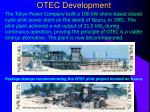 otec development