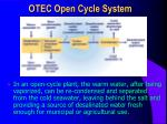 otec open cycle system
