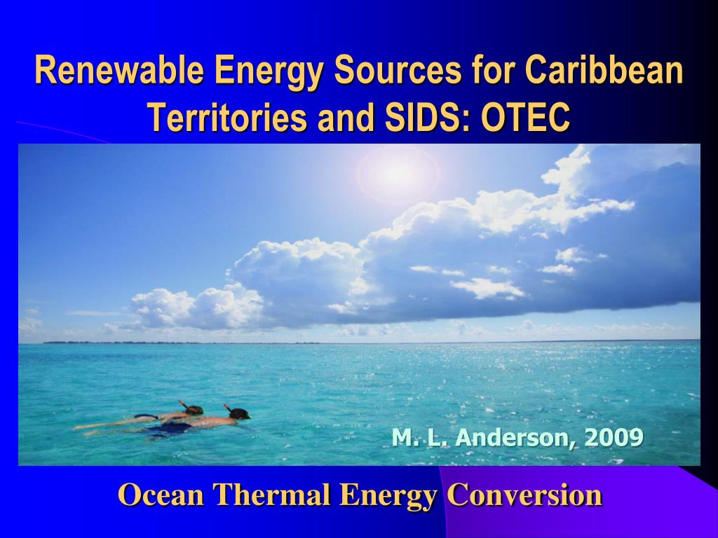 Renewable Energy Sources for