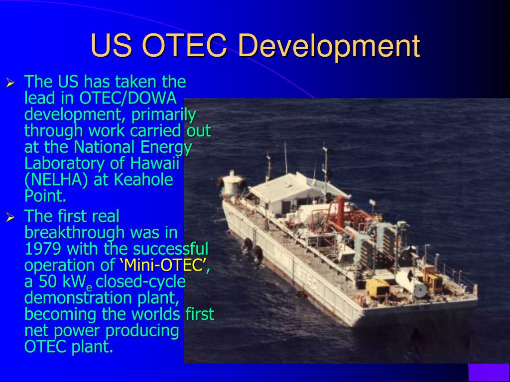 US OTEC Development