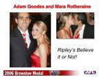 adam goodes and mara rotheraine