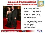 lance and rhiannon whitnall ye s they reinforced the chairs at the table