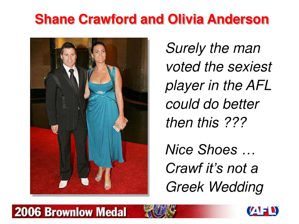 shane crawford and olivia anderson l.