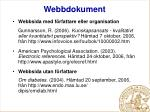 webbdokument