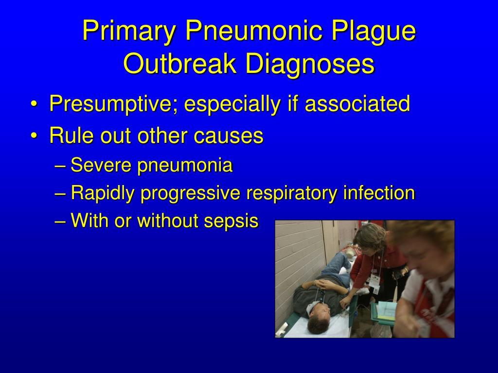 Primary Pneumonic Plague