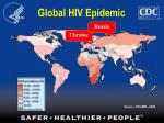 global hiv epidemic