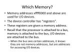 which memory