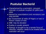 pustular bacterid