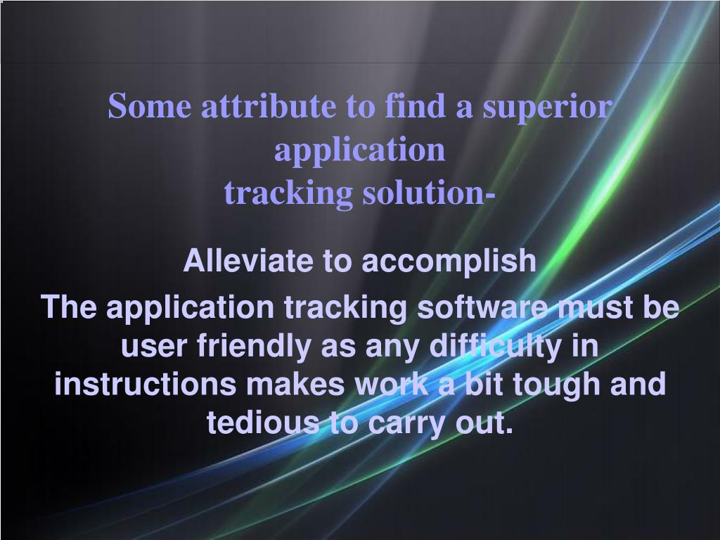Alleviate to accomplish