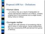 proposed ahr act definitions15