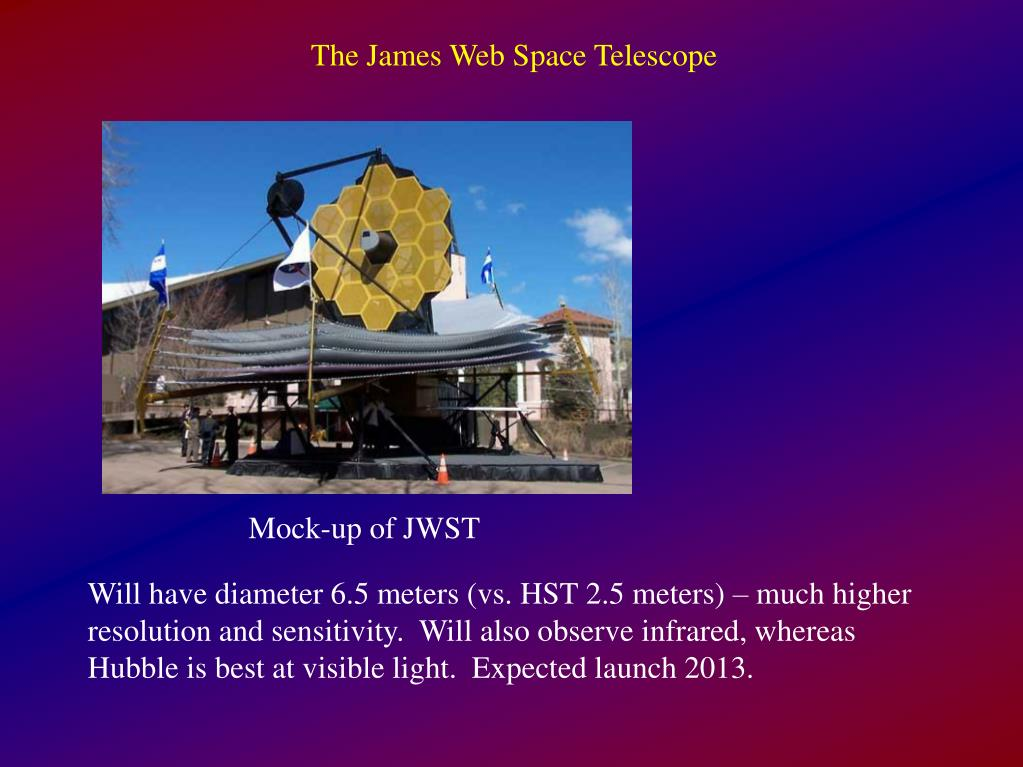The James Web Space Telescope