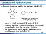unsaturated hydrocarbons4