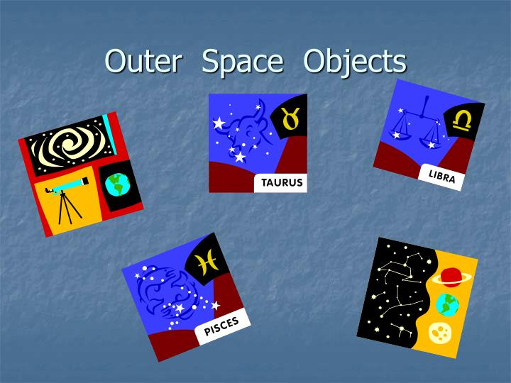 outer space objects n.