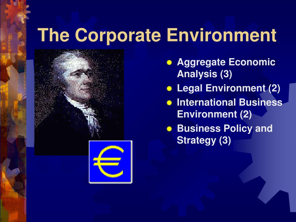 The Corporate Environment