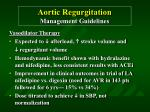 aortic regurgitation management guidelines40
