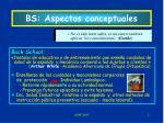 bs aspectos conceptuales
