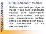 representaci n mental