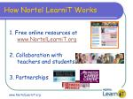how nortel learnit works