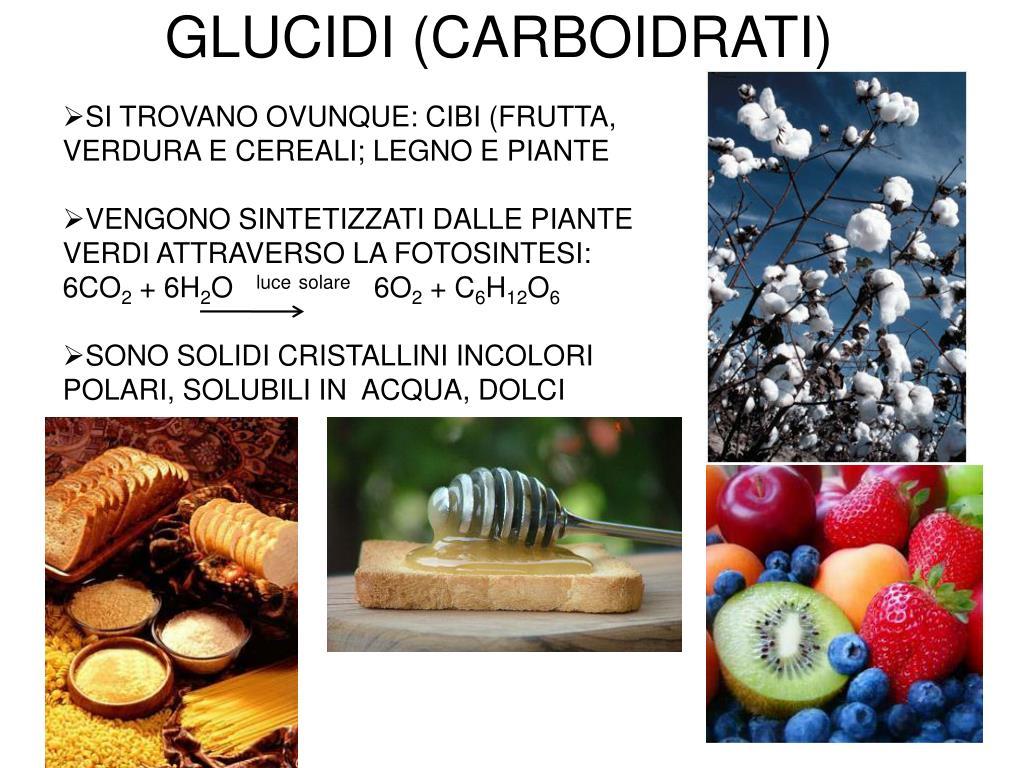 glucidi carboidrati l.