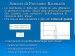 sensori di pressione risonanti