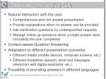 towards interactive qa