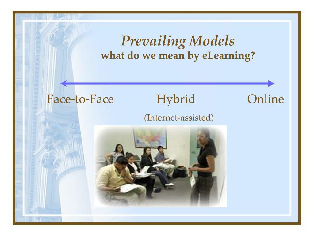 Prevailing Models
