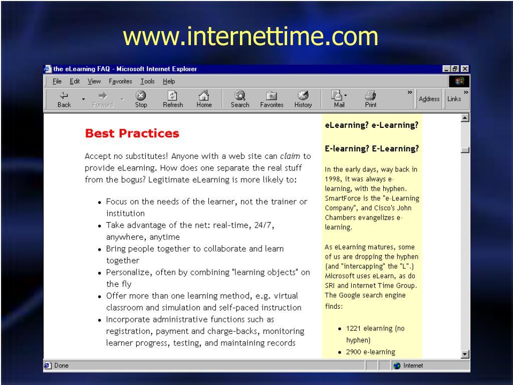 www.internettime.com