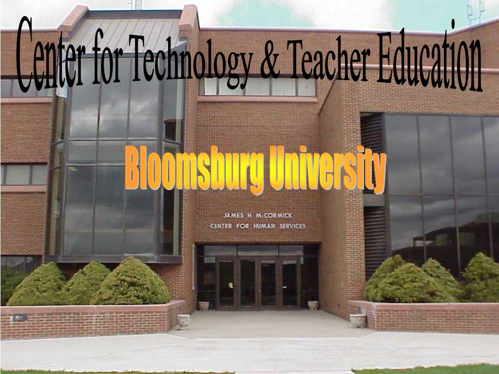 Center for Technology & Teacher Education