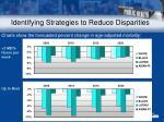 identifying strategies to reduce disparities