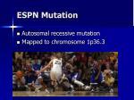 espn mutation
