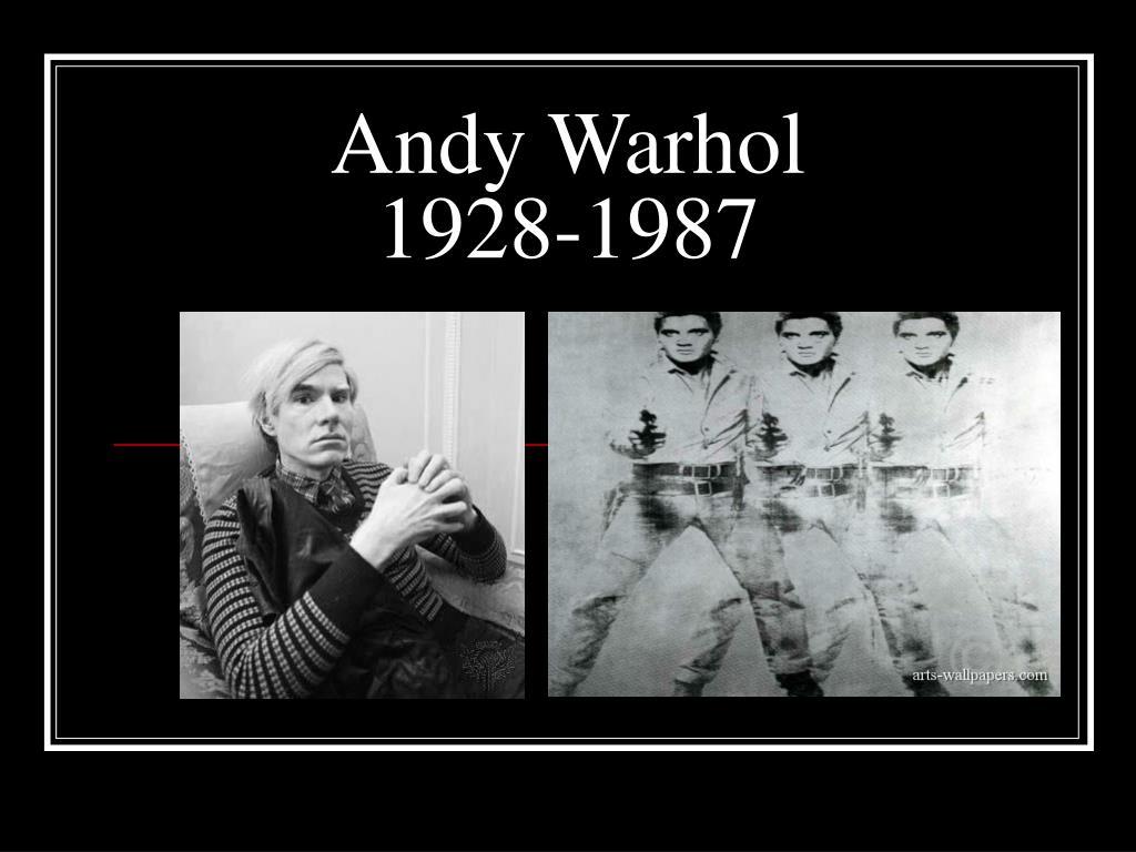 andy warhol 1928 1987 l.